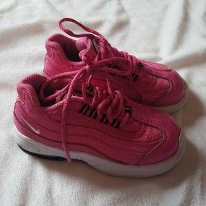 Nike air max girls pink toddler shoes 9c walkers 9